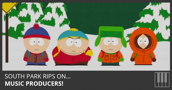 South Park Rips On Music Producers