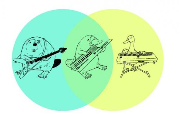The keytar Venn diagram